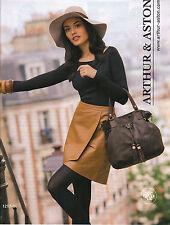 PUBLICITE  2012   ARTHUR & ASTON  haute couture nouveautés