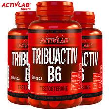 TRIBUACTIV B6 90/180 Caps. TRIBULUS ZMA TESTOSTERONE BOOSTER LIBIDO RECOVERY