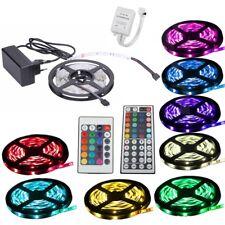 Leiste Strip Streifen Stripe LED +Controller+Trafo 1m-30m RGB SMD5050 30/60 LEDs