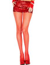 XL Talla Grande 16-22 Rojo Medias De Rejilla Lencería Sexy/para disfraz Vestido