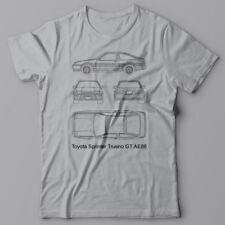 HACHIROKU AE86 T-shirt - Toyota Sprinter Trueno GT AE 86 JDM Hachi-roku ハチロク