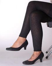 Leggings Leggings TERMO quadri piccolo marrone