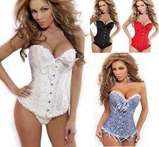 sexy corsetto bustino burlesque stringivita lingerie intimo da donna modellante