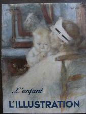 L'ILLUSTRATION 1934 N 4760 NUMERO SPECIAL L'ENFANT - PUBLICITE NESTLE
