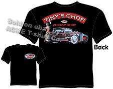 32 33 34 Hot Rod T Shirt 1932 1933 1934 Ford Clothing Rat Rod Tinys Chop Pin Up