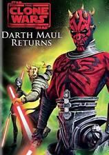 Star Wars: The Clone Wars - Darth Maul Returns (DVD, 2013) NEW