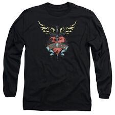 Bon Jovi Daggered Mens Long Sleeve Shirt Black