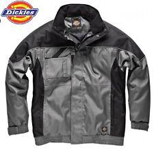 Dickies Giacca Impermeabile Cappotto Cappuccio Multi Tasca Workwear Casual in30060 S - 4xl