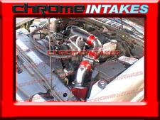 96-05 CHEVY S10 S-10/ZR2/ZR5/BLAZER/SONOMA/JIMMY 4.3 4.3L V6 COLD AIR INTAKE RED