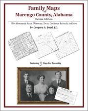 Family Maps Marengo County Alabama Genealogy AL Plat