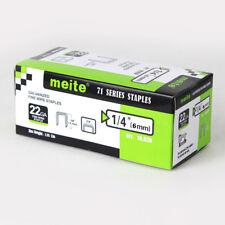 meite 22GA 3/8-Inch Crown 1/4-Inch leg Galvanized staples upholstery staples