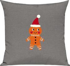 Kinder Kissen, Lebkuchen Lebkuchenfigur Plätzchen Weihnachten Winter Schnee Tier
