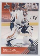 2013-14 Upper Deck Edmonton Oilers #57 Ty Conklin Hockey Card