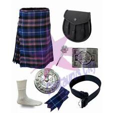 Cc Herren Schottisch Pride von Schottland 5.5m Hochland Schottenrock 8 Stück