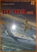 Messerschmitt Bf 109 G/K vol. II - Kagero (without decals), ENGLISH!!