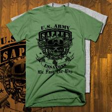 b0c5939d Combat Engineer Army Sapper U.S. Military T-Shirt, US Army, all sizes,