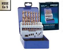 Spiralbohrer Set DIN 338 Typ N 19-25tlg HSS-G TIN oder HSSE-Co5 High Performance