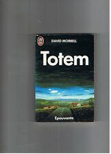 TOTEM DAVID MORRELL  J'AI LU EPOUVANTE 1990