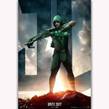 60242 Justice League Unite 2017 The Arrow Superhero Wall Print Poster CA