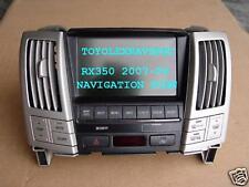 LEXUS RX350 DVD NAVIGATION DISPLAY SCREEN 2007-2009