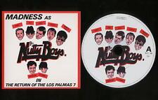 MADNESS - RETURN OF THE LOS PALMAS 7 - DELETED CD SINGLE - SUGGS SKA STIFF 80s