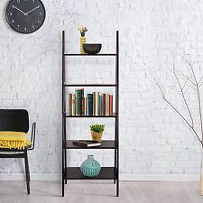 5 Shelf Ladder Bookcase Espresso Bookcases Furniture Garden Home Garden Decor