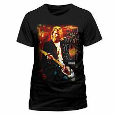 Kurt Cobain Official Nirvana Right Rock Tee T-Shirt Top Clothing Mens Ladies Wom