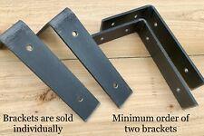 Heavy Duty Metal Shelf Brackets - L Shaped