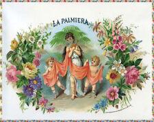 Quality POSTER.Cigar label La Palmiera Home wall Decor bar club art print.q683