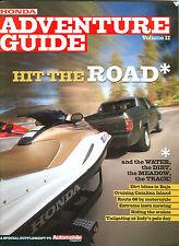 Automobile Mag - Honda Adventure Guide Vol II - Catlina Island - Indy Pole Day