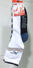 PACK 2 PARES DE CALCETINES INFANTILES DEPORTE Calzini Kid's Socks Chaussettes