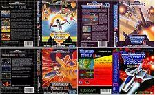 Thunder Force II III IV Sega Megadrive Genesis Caja de Sustitución Arte caso inserto