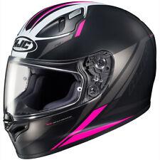 HJC FG-17 Valve Full Face Helmet Black/Pink
