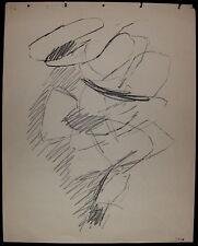 Jacques Germain Pastel sur Papier Signée Art Abstrait abstraction lyrique