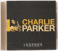 CHARLIE PARKER LEGENDS CD ORIGINAL RECORDINGS - LOVER MAN & MORE