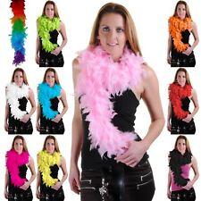 FEATHER BOA BURLESQUE DANCE FANCY DRESS HEN NIGHT ACCESSORY SHOWGIRL 150CM 115GM