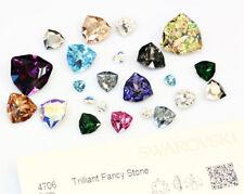 Genuine SWAROVSKI 4706 Trilliant Fancy Stones Crystals * Many Sizes & Colors
