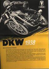DKW PROSPEKT 1938 RT 3 LUXUS KS200 SB 500 350 250