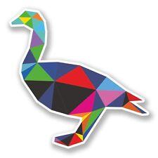2 x Funky Duck Vinyl Sticker Laptop Travel Luggage Car #6784