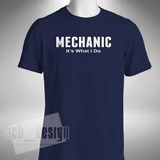 Mécanicien, il est ce que je ne T-Shirt Homme Drôle Camion Voiture Ajusteur stagiaire fixateur
