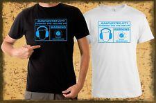 Manchester City Noisy Neighbours T-Shirt (Man City MCFC) Mens & Ladies Sizes