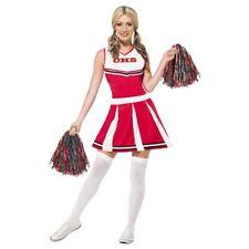 Cheerleader Costume Adult Halloween Fancy Dress