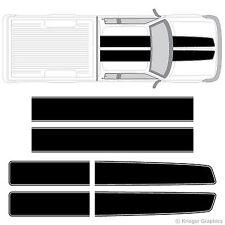 S-10 S-15 ZR2 Sonoma EZ Rally Racing Stripes 3M Vinyl Stripe Decals Graphics