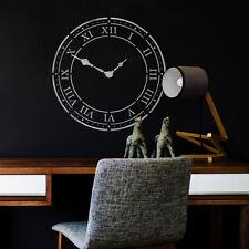 CraftStar Roman Numeral Clock Stencil - Large Clock Face Wall Stencil