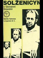 SOLZENICYN  GIOVANNI GRAZZINI LONGANESI & C. 1971