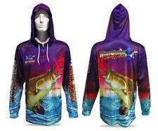 New Killer Crank Purple Barra Tournament Fishing Shirt -All Kids & Adult Sizes