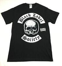 "Black Label Society ""Skull"" T-shirt Official Adult Mens Black New S,M,L,XL"