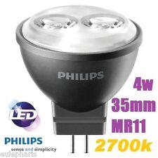 BOMBILLA PHILIPS MASTER LED spot MR11 4w,Luz CALIDA 2700k,dicroica 35mm,GU4 12V