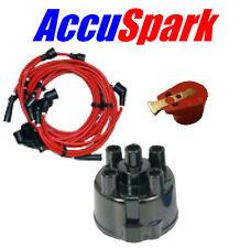 Austin Mini MKI 1000 Mayfair 8mm HT Leads Distributor Cap & AccuSparkRed Rotor