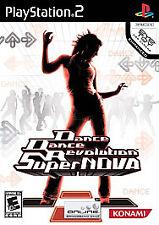 Dance Dance Revolution SuperNova (Sony PlayStation 2, 2006) new